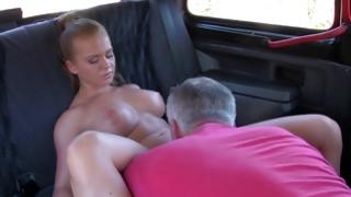 Gorgeous angel sucks the crude penis