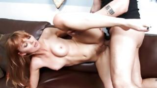 Busty salacious bitch is drilled with colossal knob