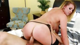 Beautiful hooker is getting her poked with gross cock