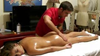 Amazing sluttish impressiveness is massaged by turned on dude