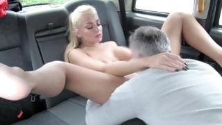 Astounding wench is eating away on heavy heavy cock