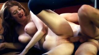 Steamy ginger princess hammered and her gap abused raw