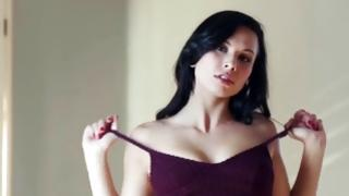 Worthy brown-haired is wailing cause of incredible fingers in cum-hole of her