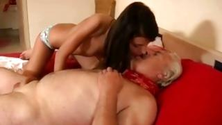 Old and diaper lover fuck with flat chasted ho and ripened sir