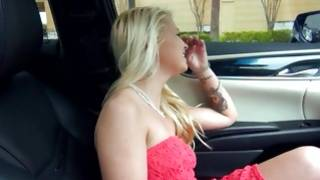 Light haired furious gf is sluttish swallowing the schlong