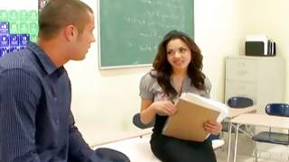 Watch on sexually bizarre young chick in classroom