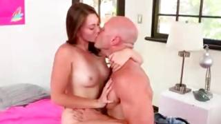 Brunette bitch screaming while buggered cruelly